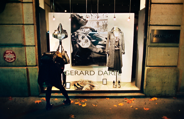 Peter Lang Paris Shop Window