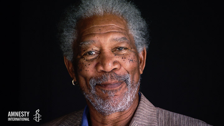 Peter Lang - Amnesty International - Morgan Freeman